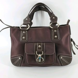 "Nine West Brown Handbag, 8 1/2"" X 13"""